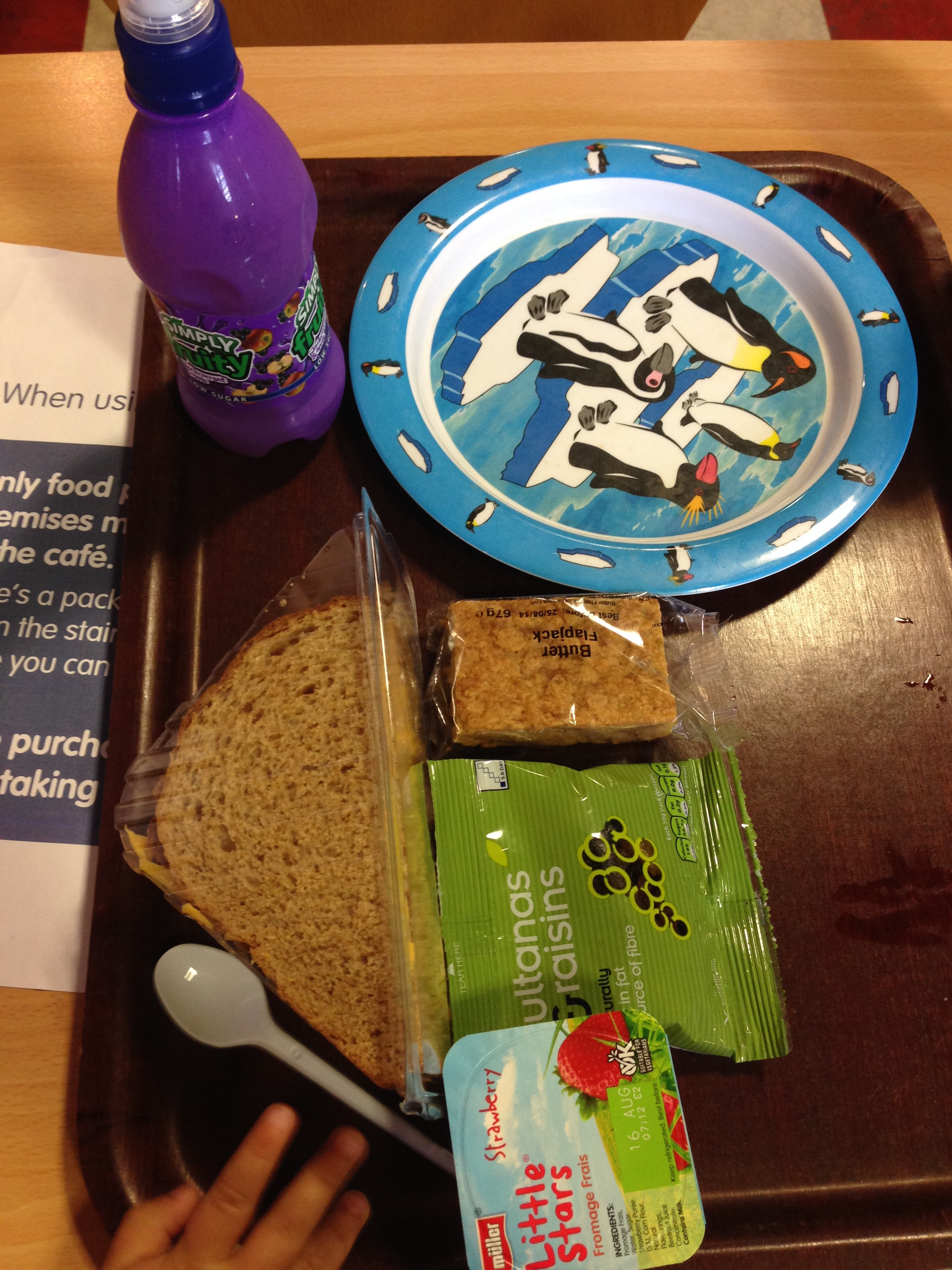 kids Meal Deal in centre for life newcastle