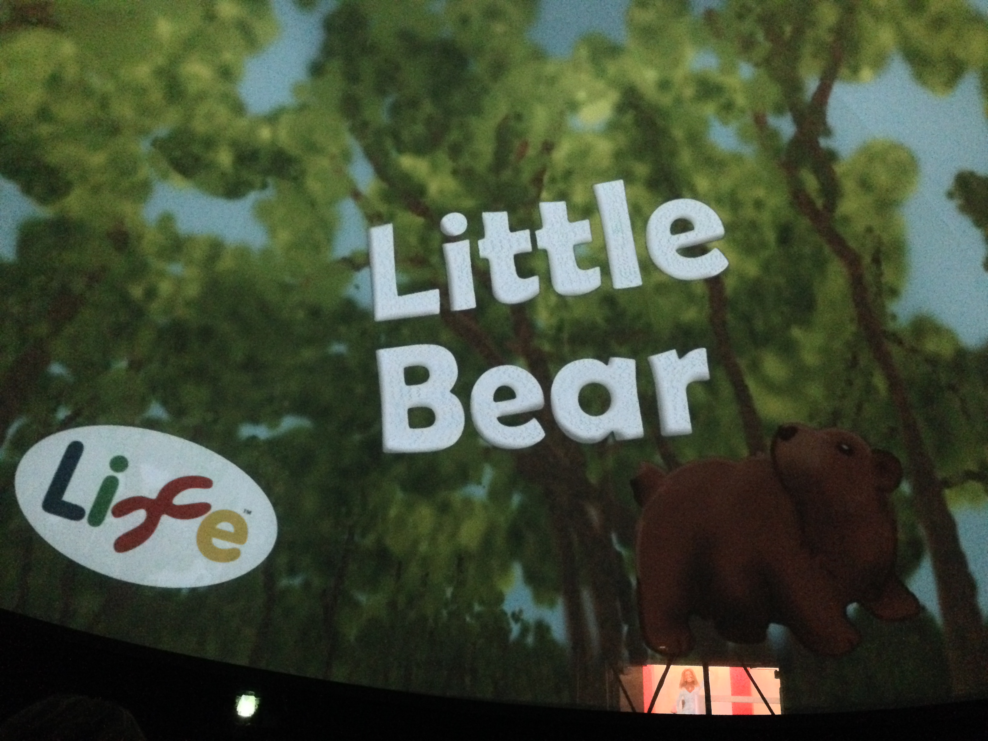 Planetarium show Little Bear at Centre for Life