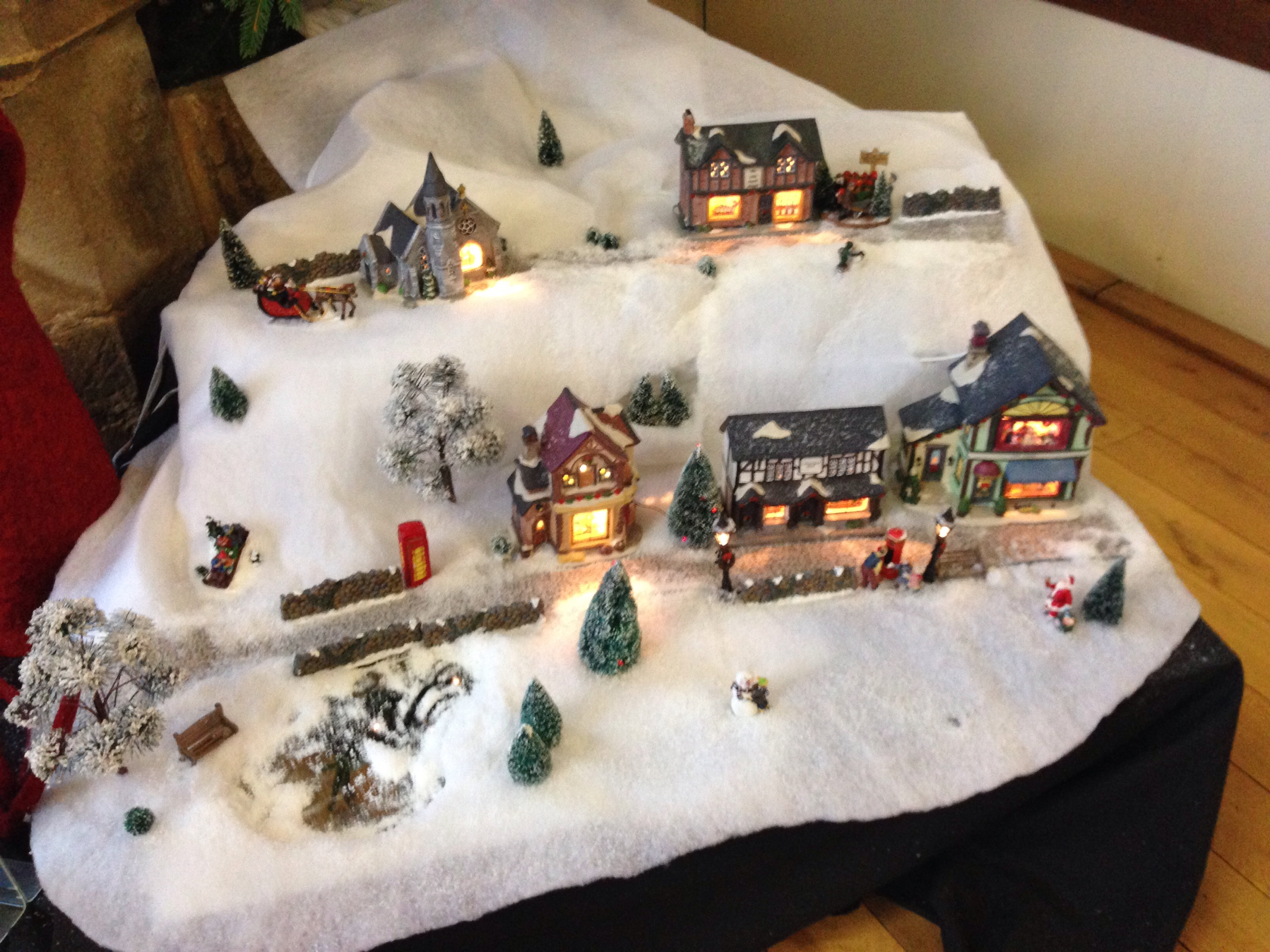 model village at st marys heritage centre for a show of the Snow Bear