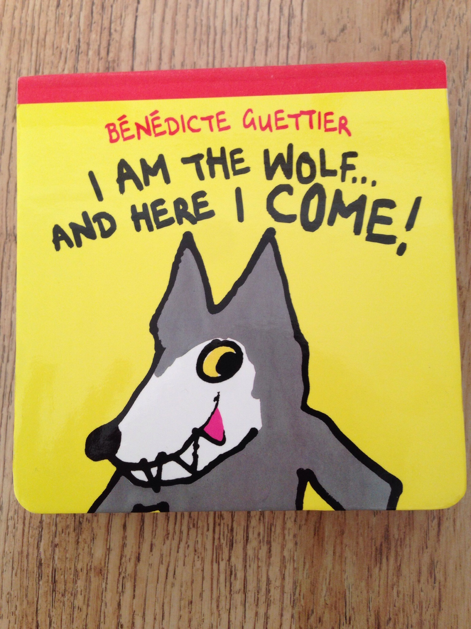 I am the wolf and here I come by benedicte guettier book review