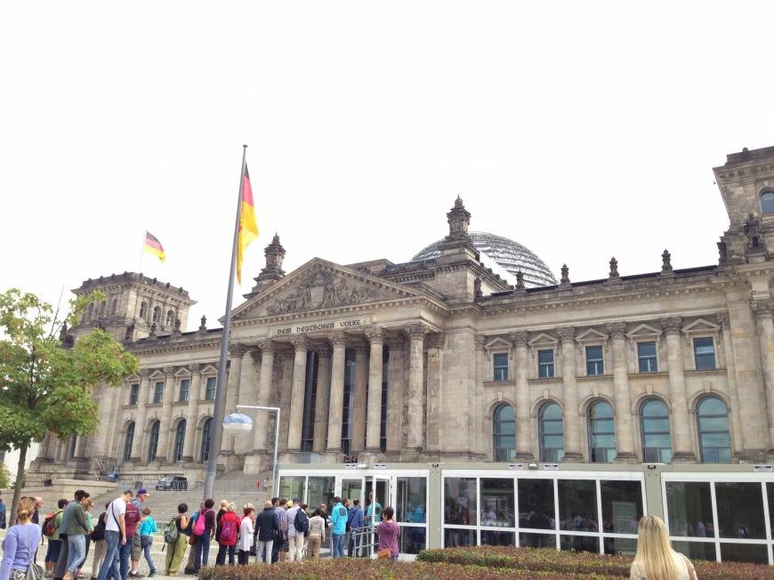 Reichstag tour