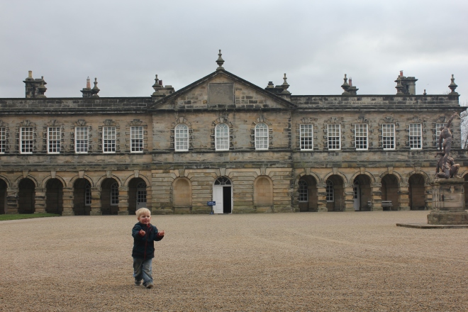 Quite a pretty building, isn't it?! Seaton Delaval Hall