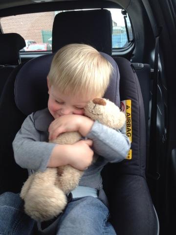 So happy the class bear picked  James