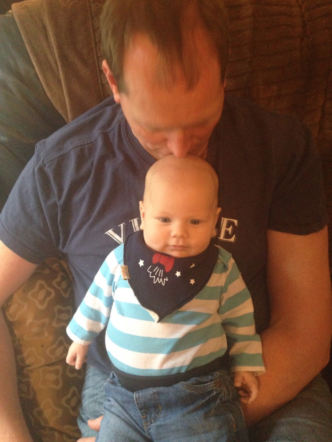 Daddy Foote and baby Noah