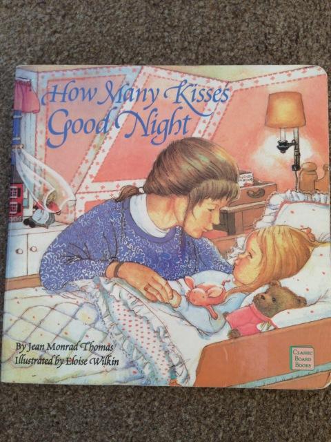 how many kisses good night board book