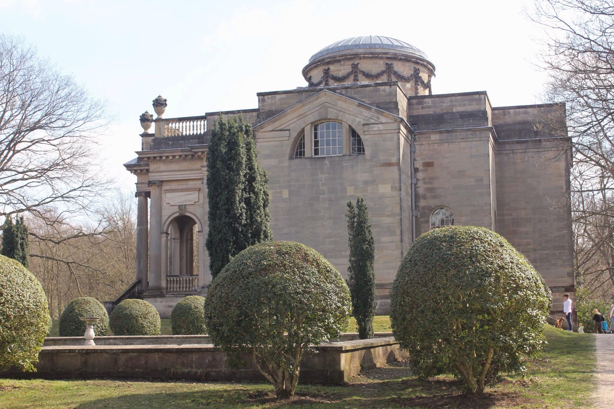 Gibside chapel side view