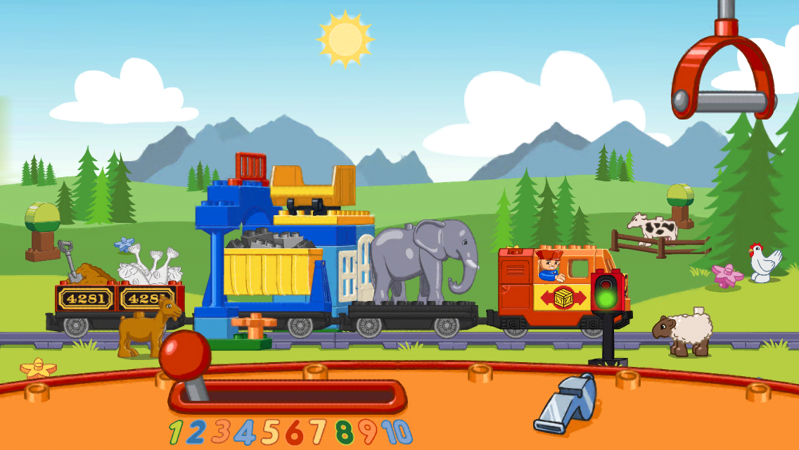 Lego duplo trains app for toddlers ipad iphone