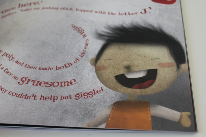 review of the little boy who lost his name personalised book