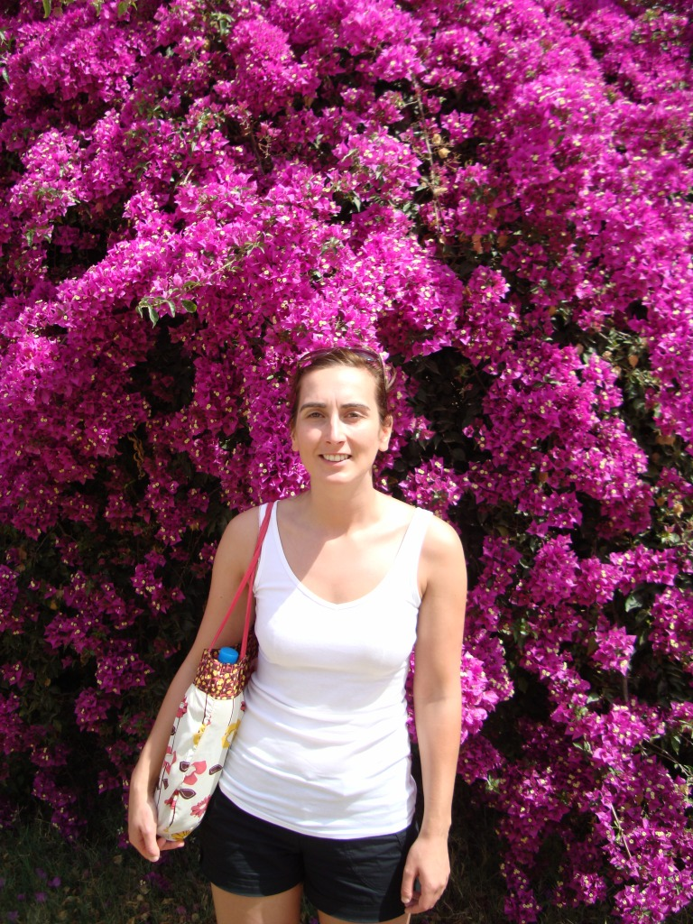 tourist tunisia bag flowers