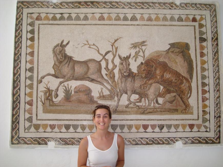 mosaic el djem tunisia