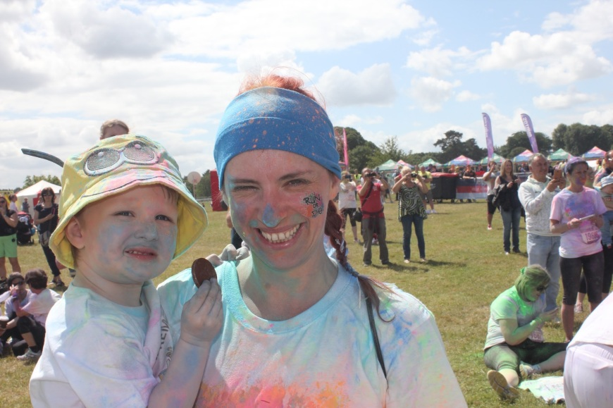 Run or dye Cholmondeley castle Babyfoote