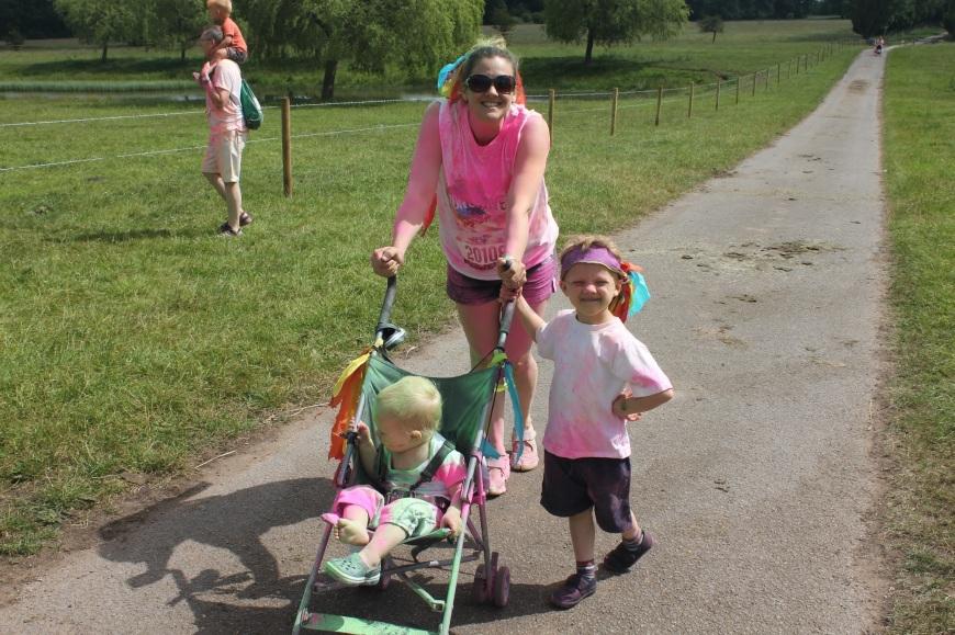 Babyfoote run or dye pushchair