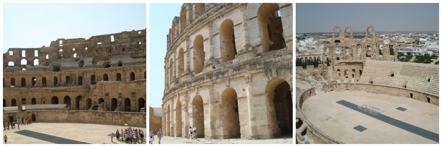 el djem tunisia amphitheatre