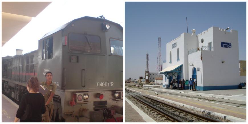 tunisia train station el djem