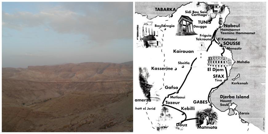 map sahara explorer tour