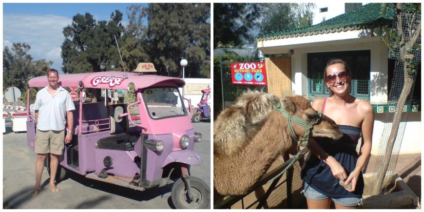 tunisia tuc tuc zoo sousse port el kantaoui