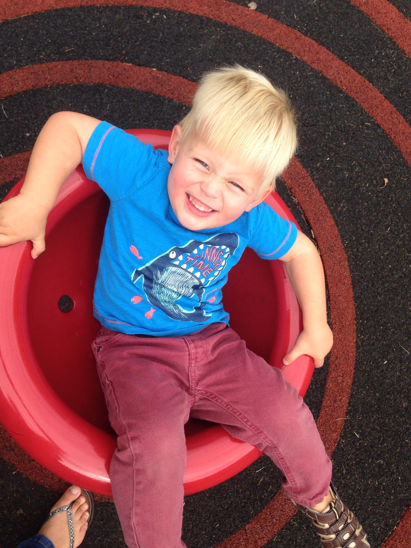 spinning around  john willie sams playground north tyneside