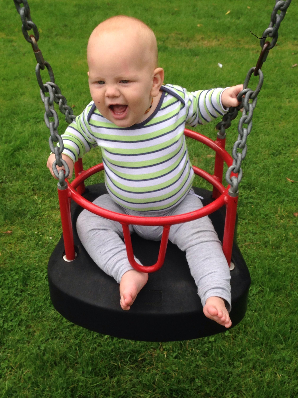 swings playground john willie sams playground north tyneside