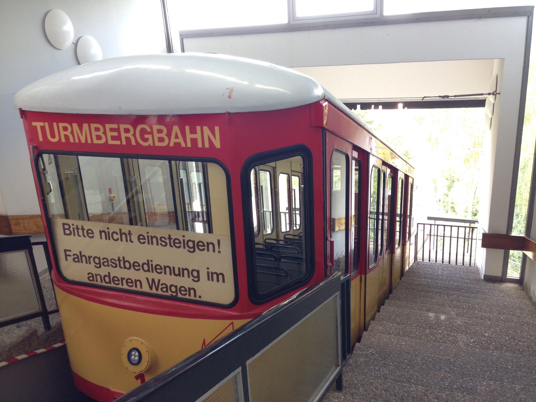karlesruhe mountain train