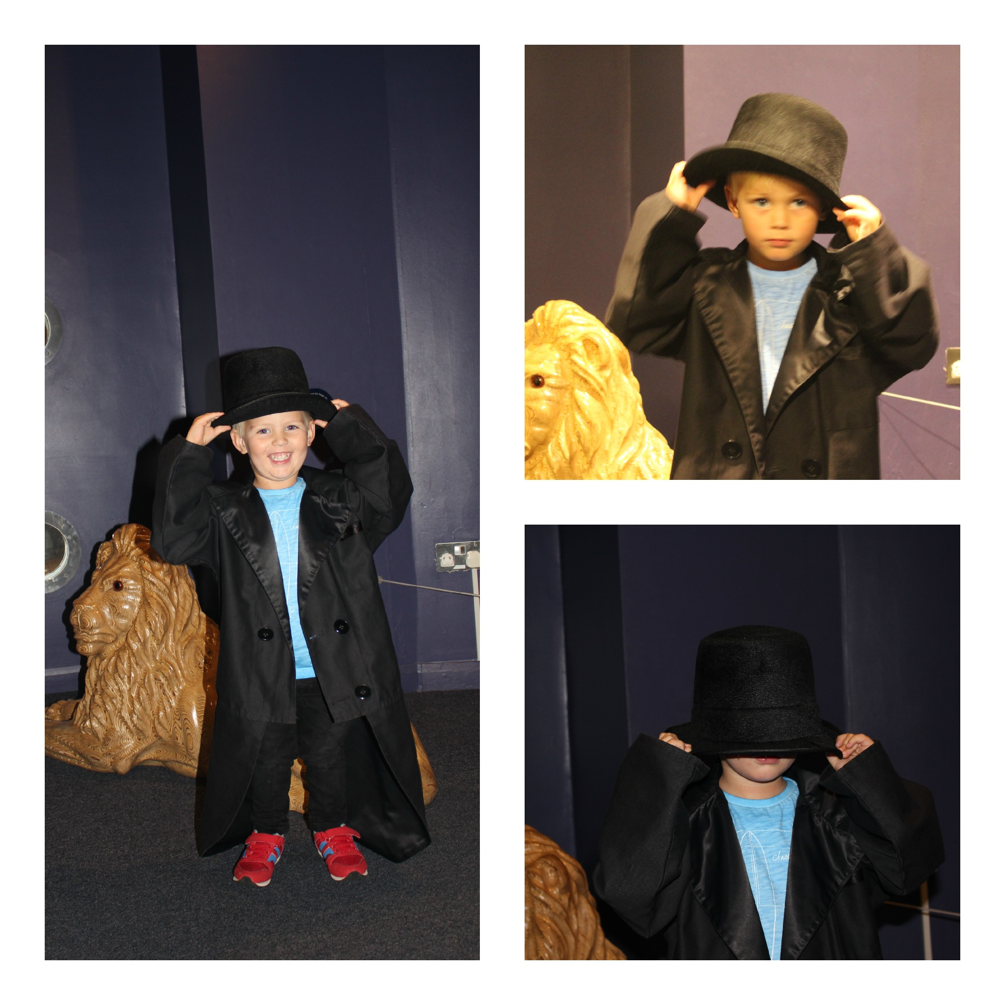 dress up in sunderland winter garden museum