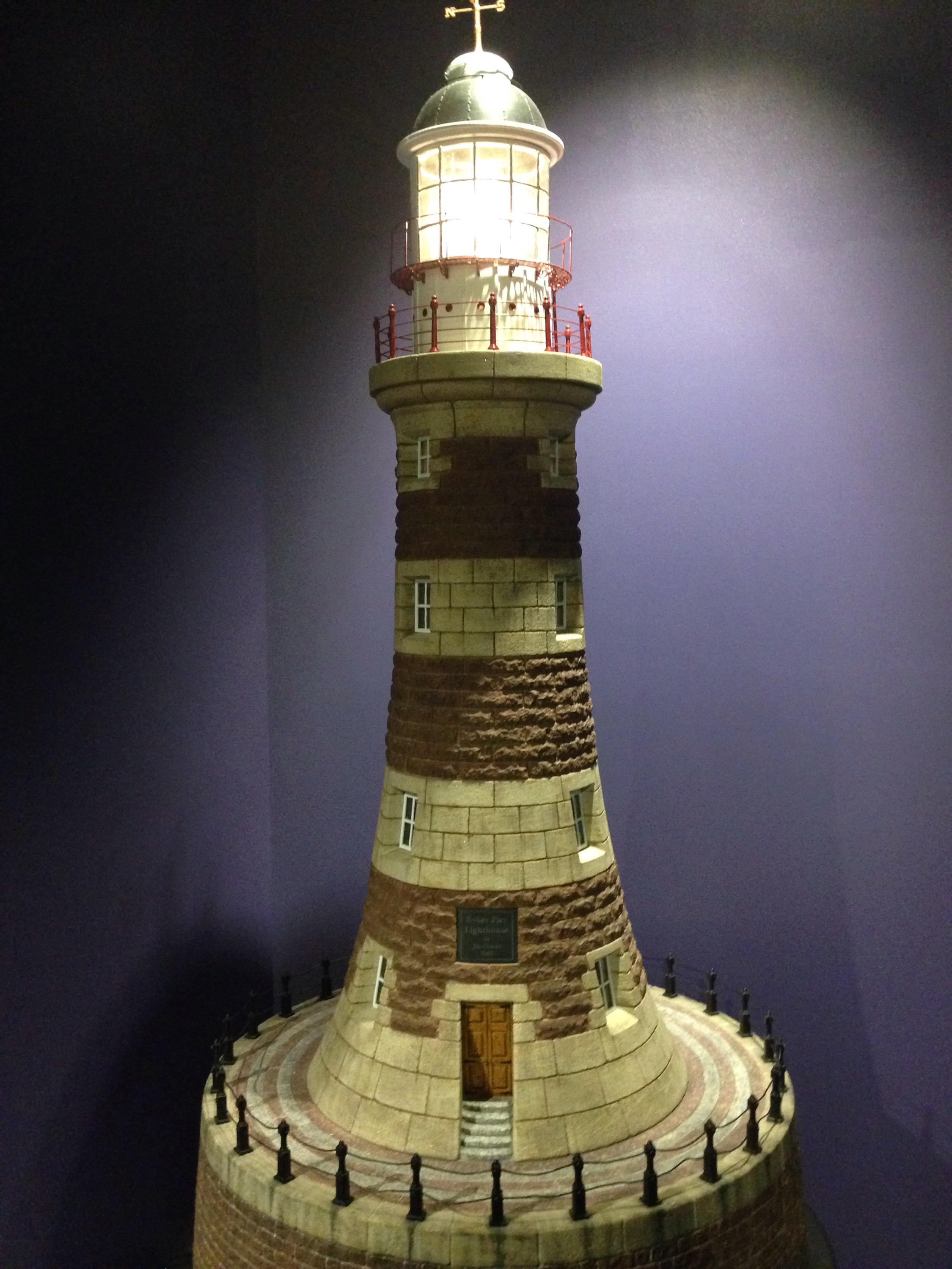sunderland lighthouse at the winter garden museum