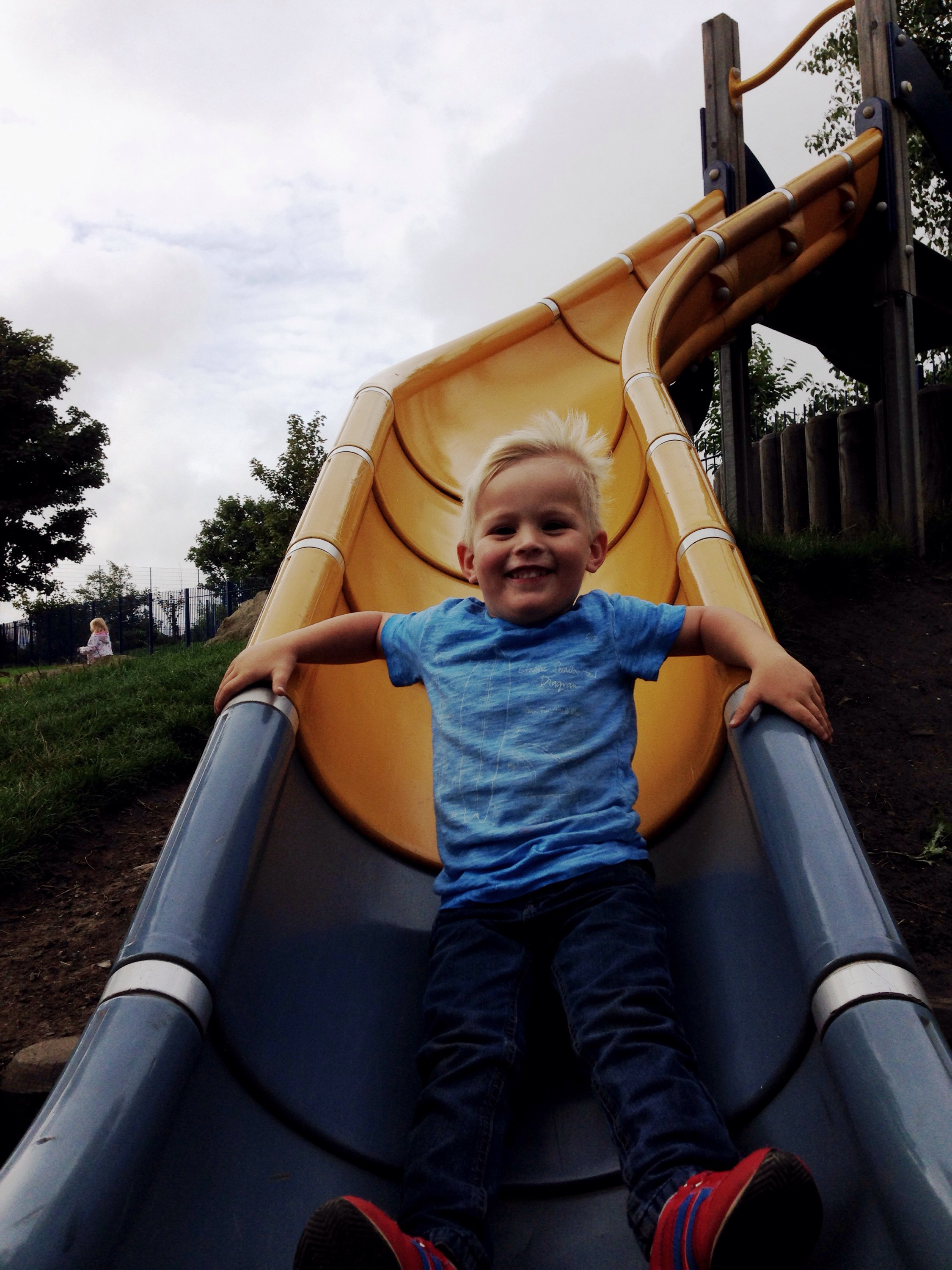 whitley bay park slide