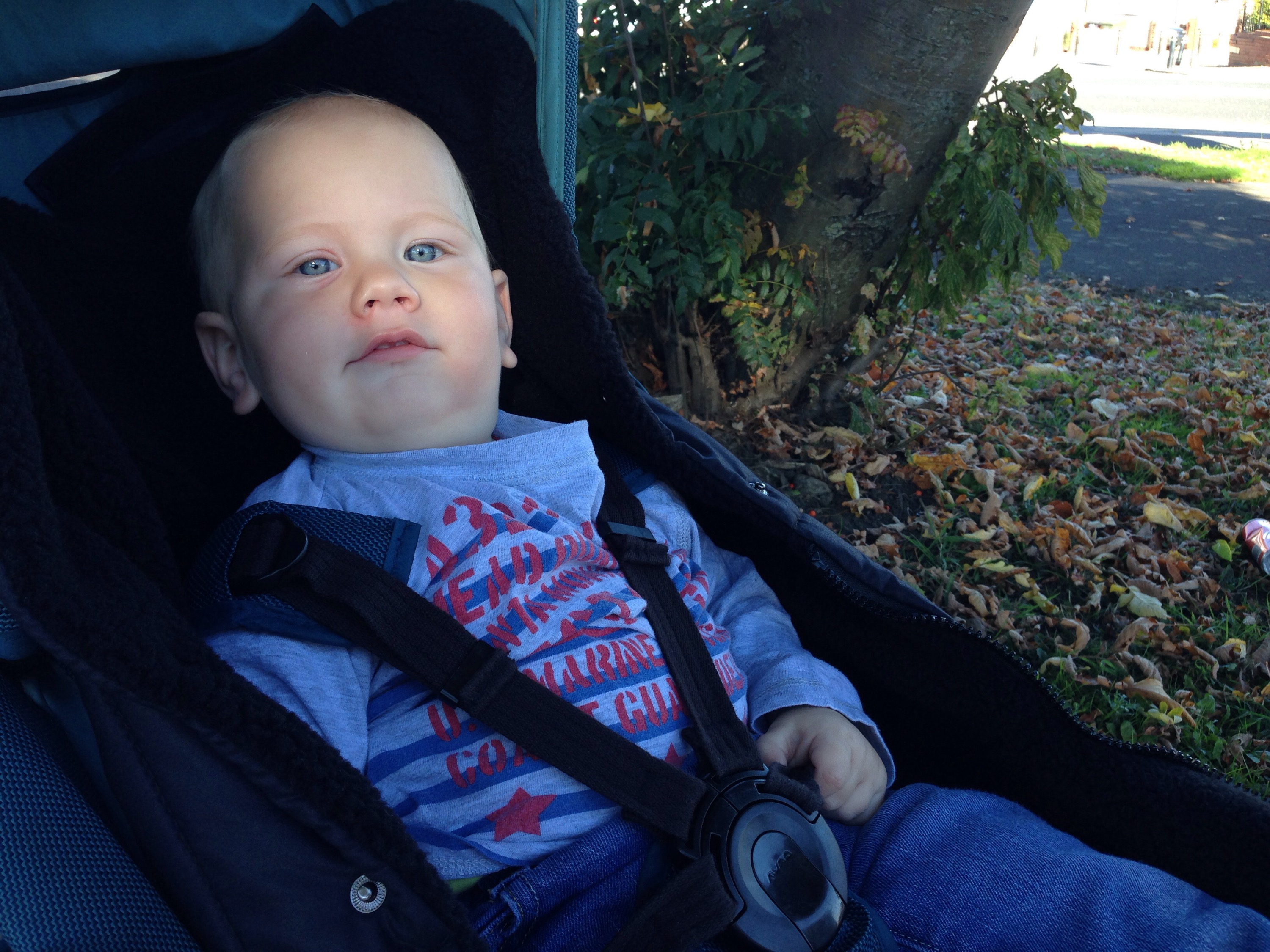 out'n'about pushchair cosy toes review