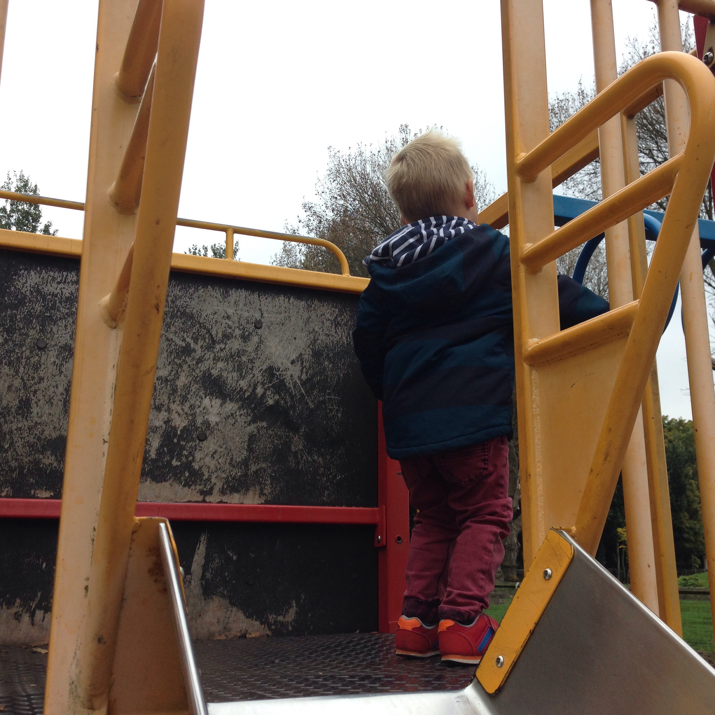 churchil playing fields playground in north tyneside