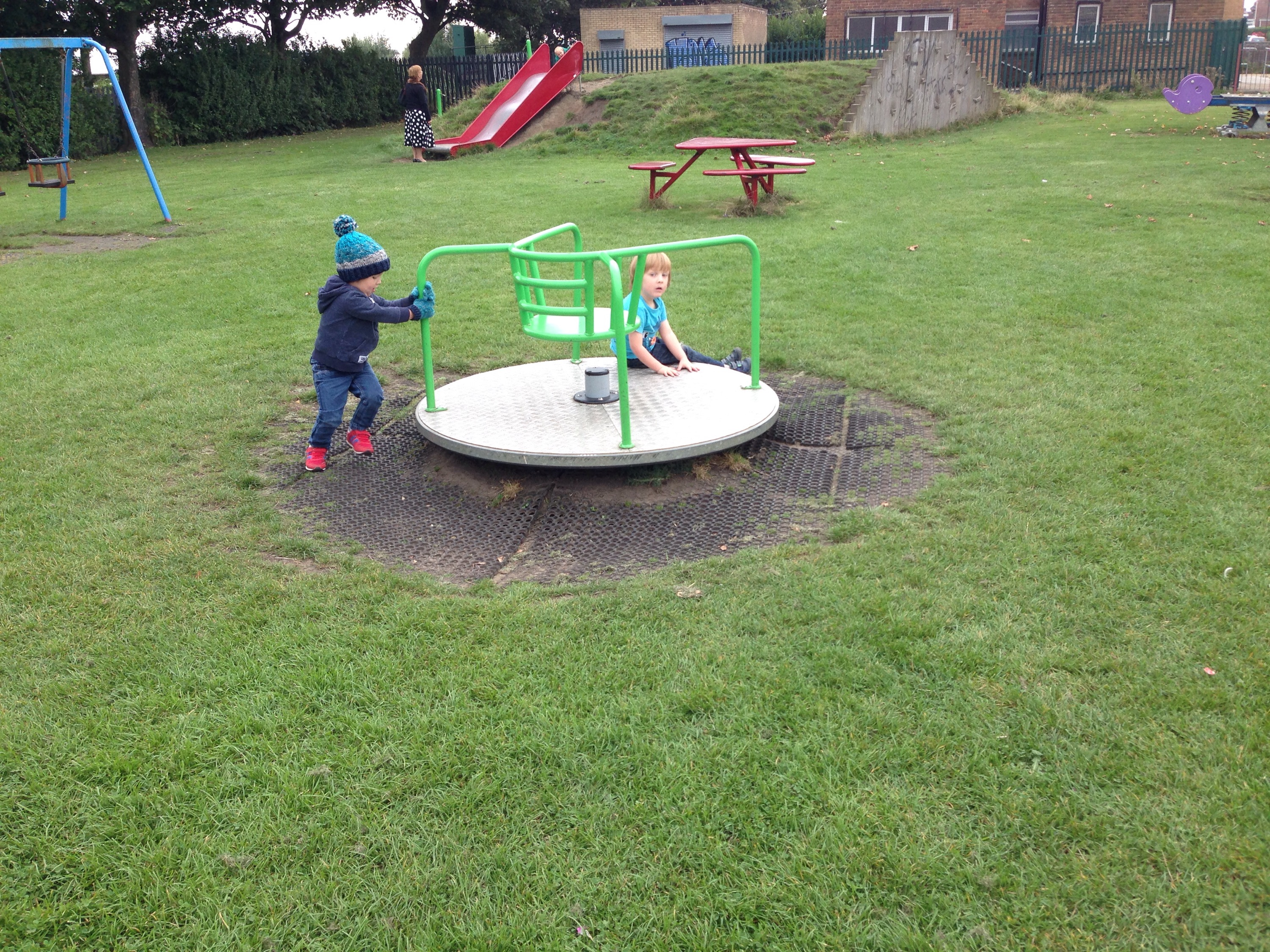 north tyneside playground link road roundabout preschoolers