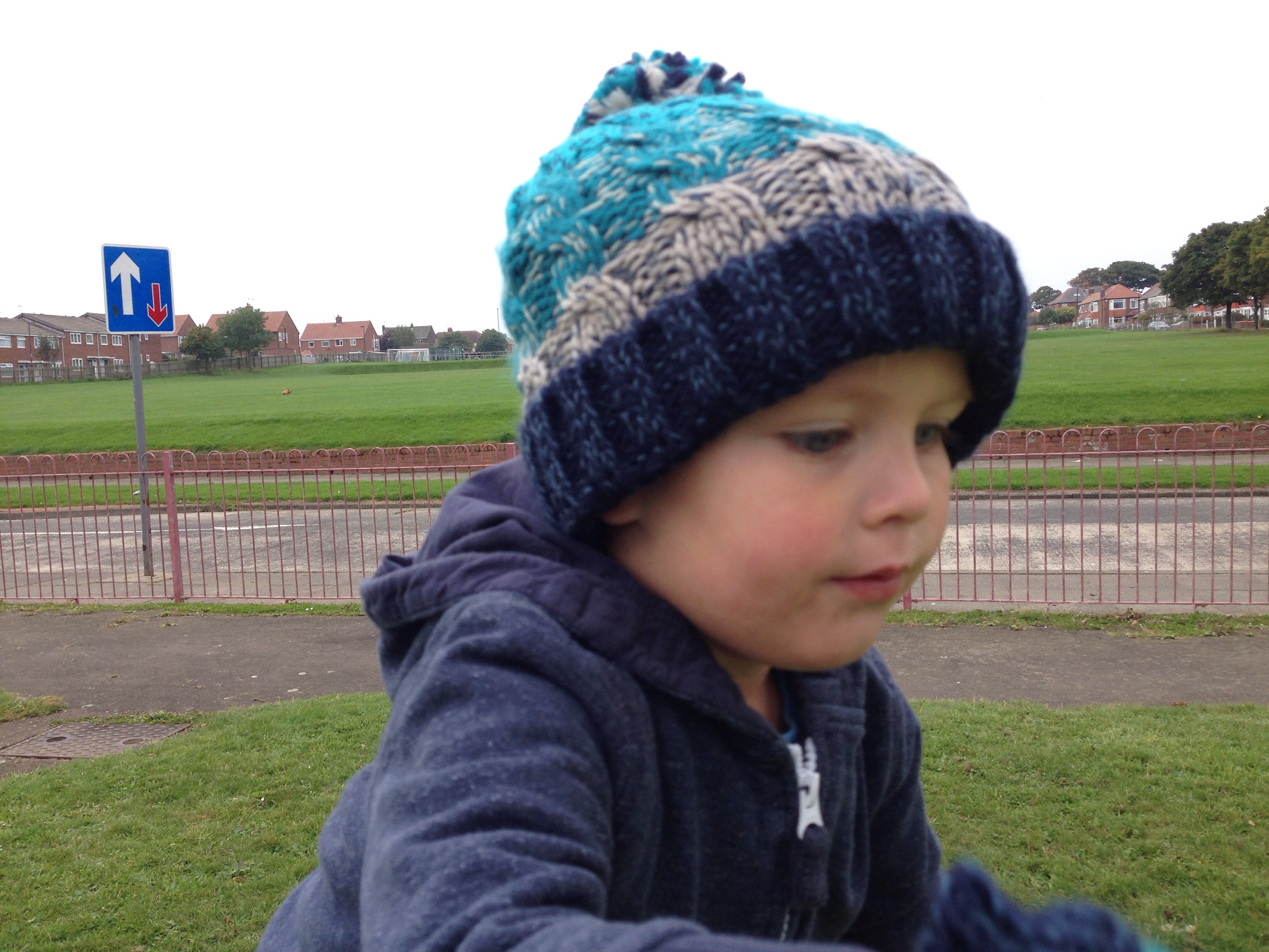 north tyneside playground link road sainsburys hat autumn