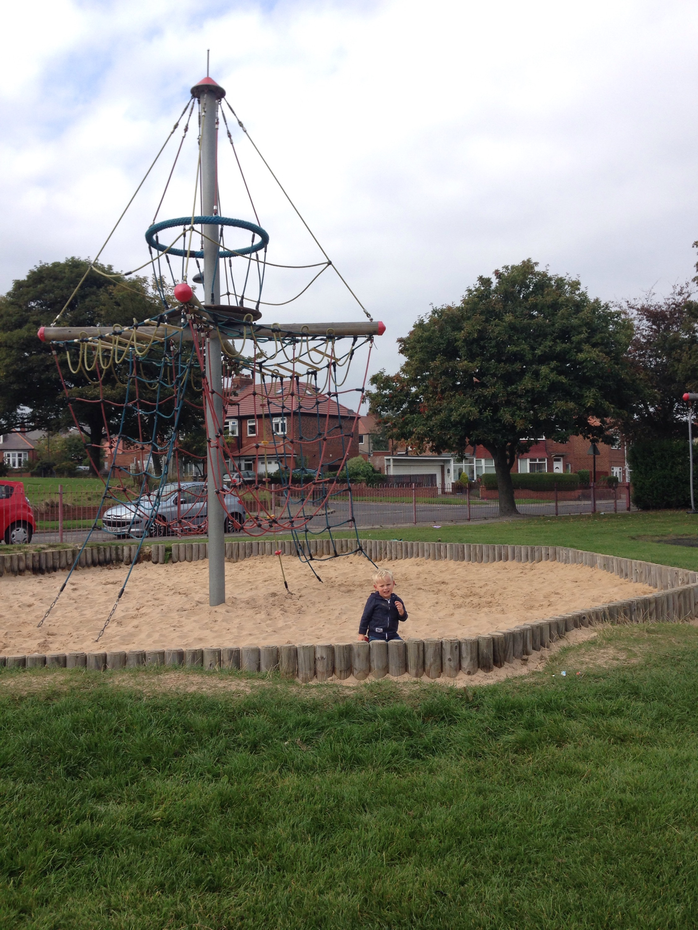 sand in north tyneside playground link road