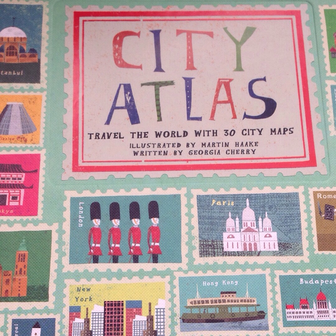 city atlas martin haake illustrated maps
