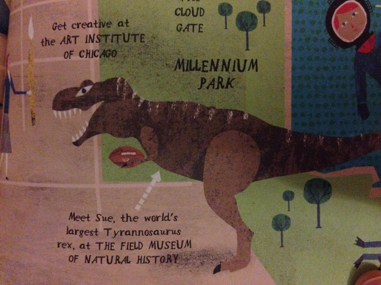 sue the dinosaur in chicago field museum