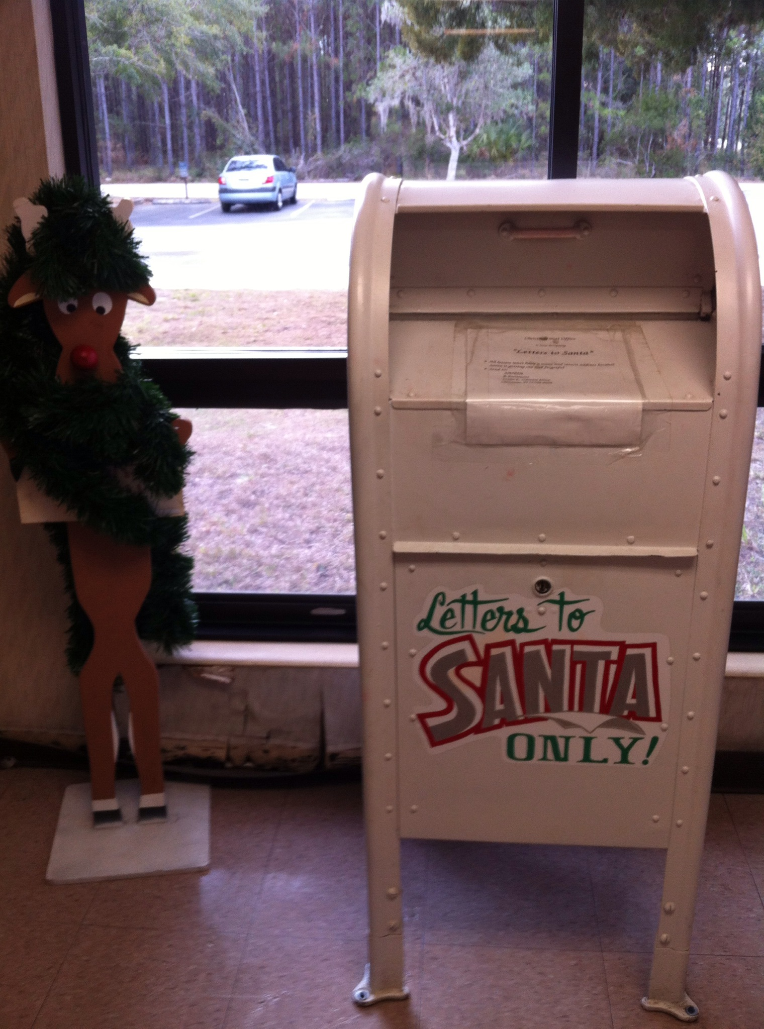 post box letters to Santa only Christmas Florida