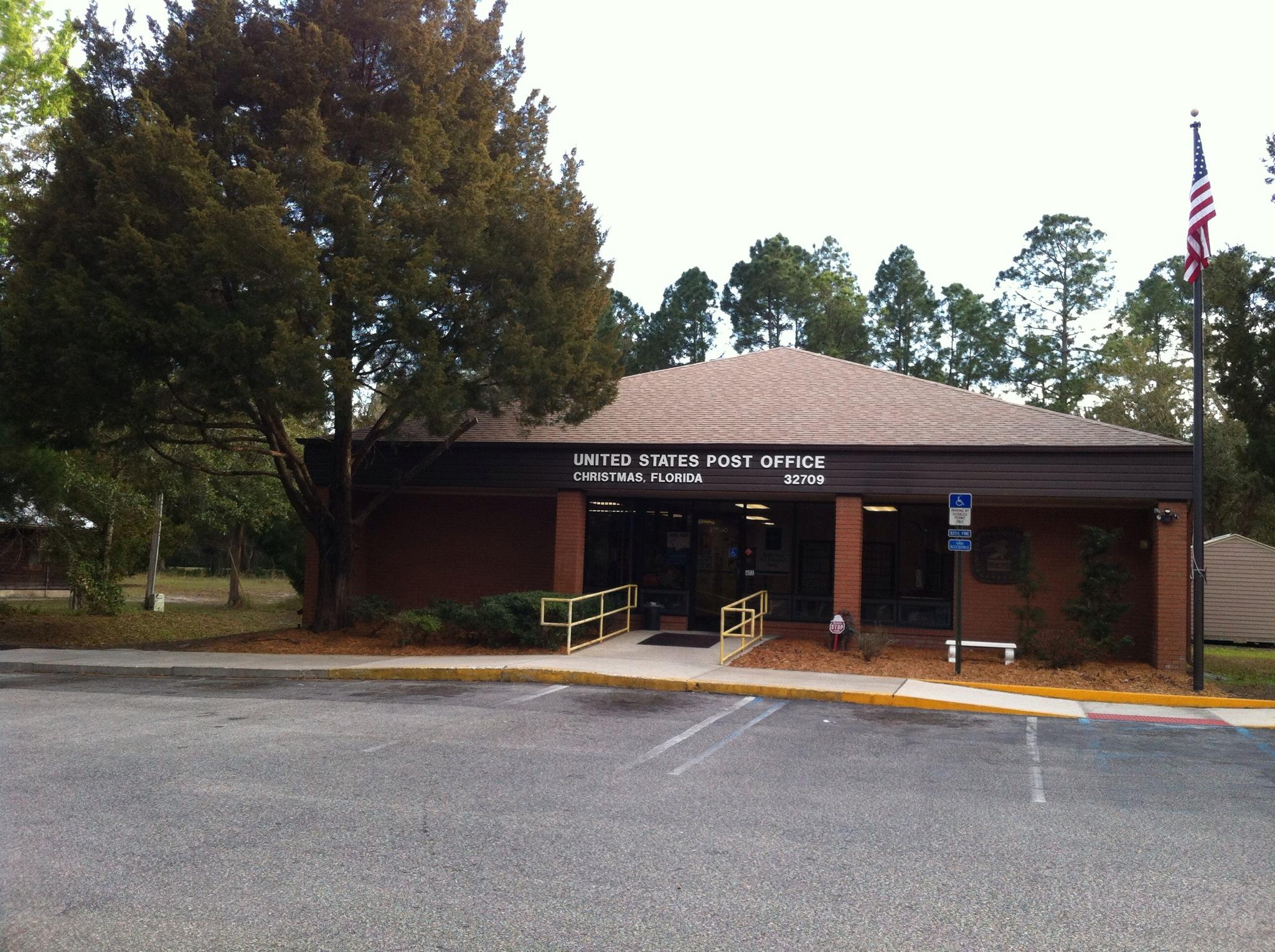 Christmas Florida Post Office