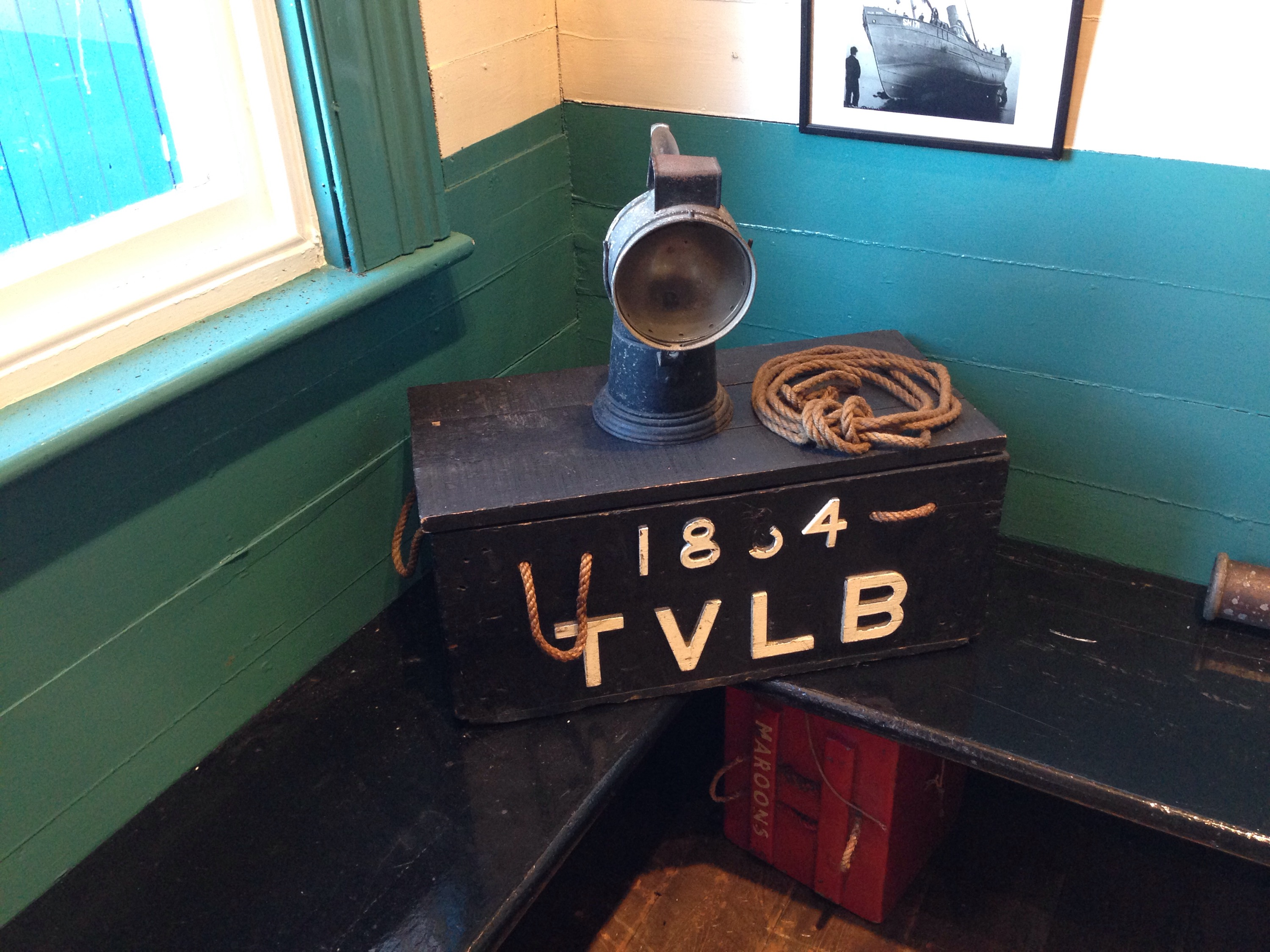 tvlb chest and light in the tynemouth volunteer life brigade watch house museum