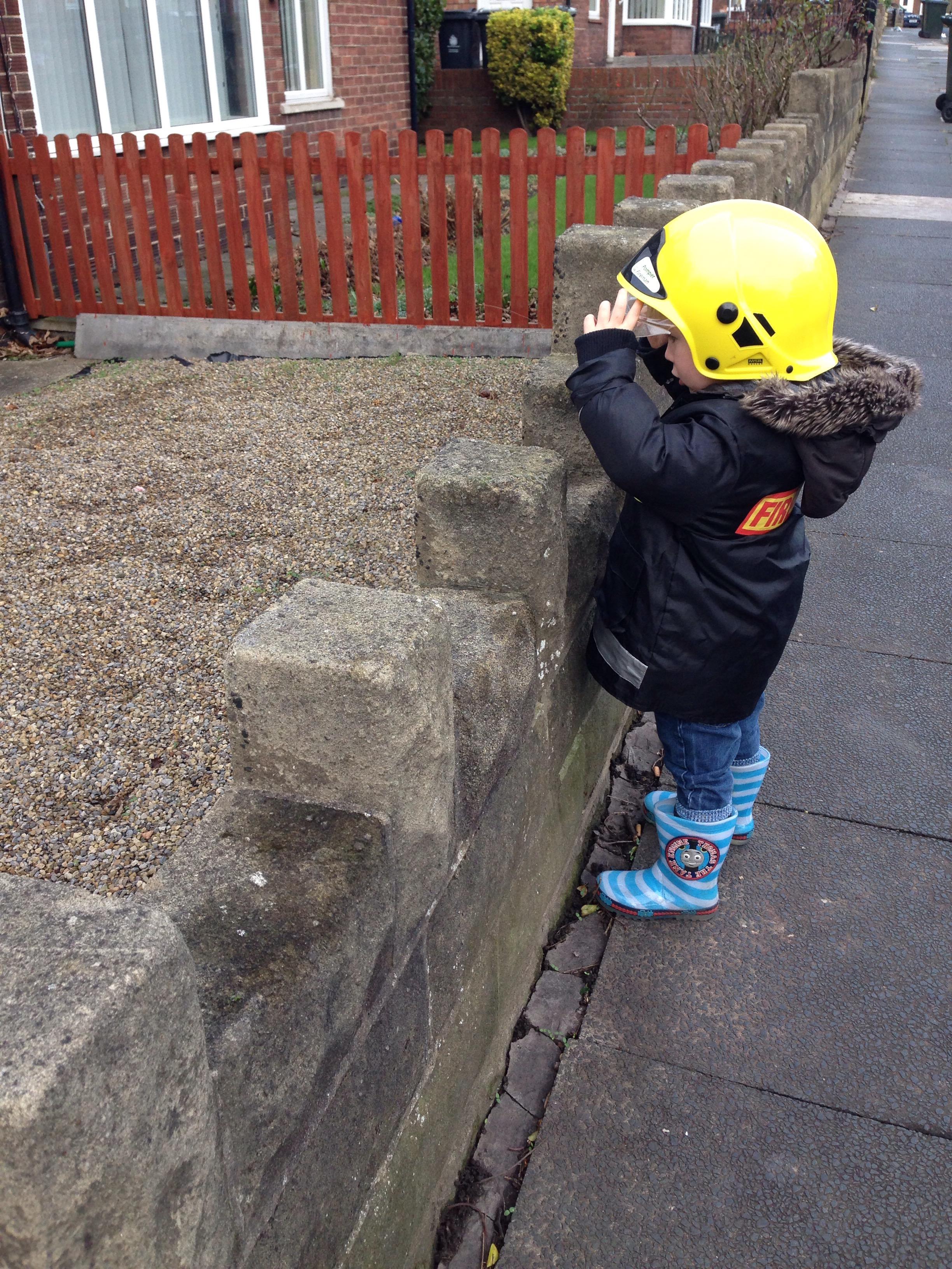 fire fighter role play preschool